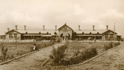 Railway station, Quetta, 1942, private archives
