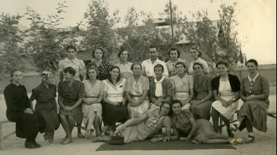 Staff of the Polish orphanage, Quetta, 1942, private archives